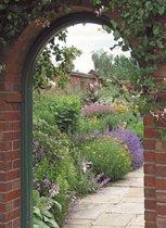 Tuinposter doorkijk lavendel kasteeltuin