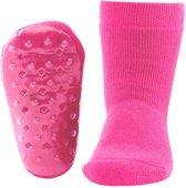 Ewers anti-slip sokken Stoppi uni fuchsia Maat: 21-22