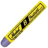 Markal B Paintstik Marker - Paarse Solid Paint Stick - Geschikt op ruwe, roestige, gladde of vuile oppervlakken