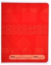 Rode schriften basisschool 1 stuks - oefenschrift - formaat A5