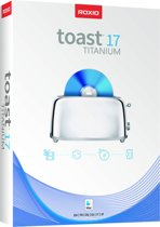 Roxio Toast Titanium 17 - Engels / Frans / Duits - Mac Download
