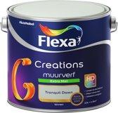 Flexa Creations - Muurverf Extra Mat - Tranquil Dawn - Kleur van het Jaar 2020 - 2,5 liter