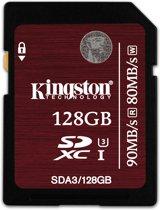 Kingston SD kaart UHS-I 128GB