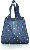 Reisenthel Mini Maxi Shopper - Opvouwbare boodschappentas - Polyester - Marine Dots