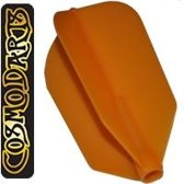 Cosmo Darts Fit Flight Super Slim Orange  Set à 3 stuks Licht Blauw