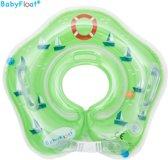 BabyFloat ® - CE Goedgekeurde Zwemband Baby Nek - Baby Swimmer - Groen