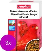 Beaphar Eikrachtvoer Kanarie Voor Rode Kleurvorming - 3 St à 150 gr - Vogelvoer