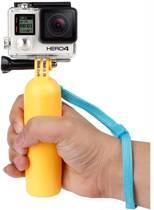 Captec Floater Grip Geel - GoPro Bobber drijvende grip geel - GoPro Accessoires