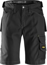 Snickers Rip-Stop Short - zwart - M taille 50 W34