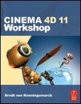 Elsevier CINEMA 4D 11 Workshop 336pagina's softwareboek & -handleiding