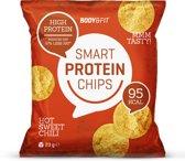 Body & Fit Smart Chips - Minder vet & koolhydraten - Eiwitrijk - 1 zakje - Hot sweet chili