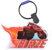 Gosh! Designs Sleutelhanger Led Monstertruck Blaze 6 Cm Rood