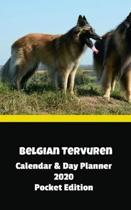 Belgian Tervuren Calendar & Day Planner 2020 Pocket Edition
