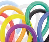Qualatex 100 gekleurde modelleerballonnen