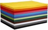 Gekleurd karton, A2 420x600 mm, 180 gr, 120 div vellen