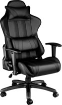 TecTake Gaming chair - bureaustoel Premium racing zwart - 402229