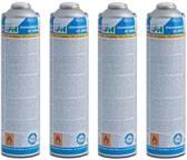 CFH 4 maal gasflessen voor gasbrander - onkruidbrander