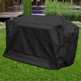 Large Universele BBQ Beschermhoes - Barbecue Grill Hoes Cover - Afdekhoes - 170x61x117cm - Waterproof - Zwart