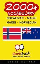 2000+ Norwegian - Maori Maori - Norwegian Vocabulary