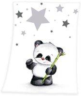Baby Best Panda - Deken - 75x100 cm - Multi kleur