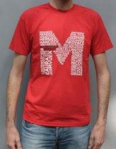 Metropole Orkest T-shirt - Heren - S - Rood