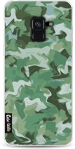 Casetastic Softcover Samsung Galaxy A8 (2018) - Army Camouflage