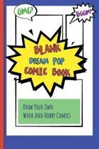 Blank Dream Pop Comic Book