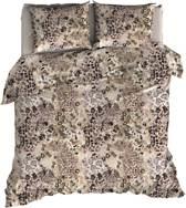 Warme Flanel Dekbedovertrek Leopard | 270x200/220 | Heerlijk Zacht En Soepel | Ideaal Tegen De Kou