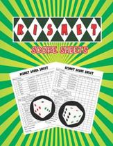 Kismet Score Sheets: Kismet Dice Game Score Book, Kismet Dice Game Score Sheets, Kismet Score Pads