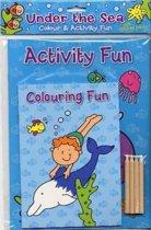 Colour & Activity Fun Under the Sea