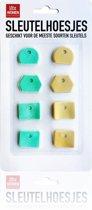3 BMT sleutel hoes set van 8 - geschikt voor meeste sleutels