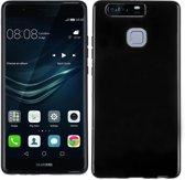 Huawei P9 Smartphone hoesje Silicone Case Zwart