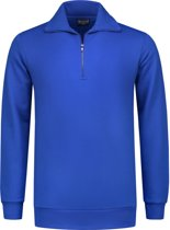 Workman Zipper Sweater Outfitters - 7704 royal blue - Maat L