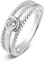 Parte Di Me 925 Sterling Zilveren Bella Vita Marina Ring  (Maat: 60) - Zilver