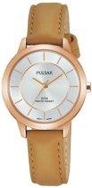 Pulsar PH8374X1 horloge dames - bruin - edelstaal PVD ros�