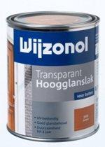 Wijzonol Transparant Hoogglanslak - 0,75l - 3155 - Whitewash