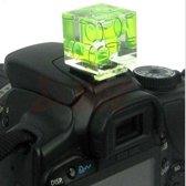 3D DSLR Camera Flitsschoen Overtrek - Hotshoe Flitsvoet Waterpas