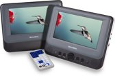 Salora DVP7048TWIN - Portable DVD-speler - 7 inch