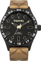 Superdry match SYG127T Mannen Quartz horloge