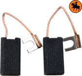 Koolborstelset voor Black & Decker frees/zaag PAG617 - 6,35x12x22mm