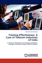 Training Effectiveness- A Case of Telecom Industries of India