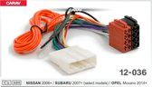 autoradio aansluitstekker stekker nissan 2006+ 12-036
