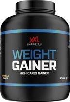 Weight Gainer - 2500 gram - Vanille