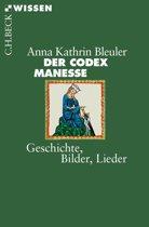 Boek cover Der Codex Manesse van Anna Kathrin Bleuler