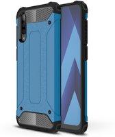 Samsung Galaxy A50 Hoesje - Armor Hybrid - Lichtblauw