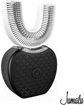 Jumalu 360 graden sonic pro elektrische tandenborstel & tandenbleker V2 - black