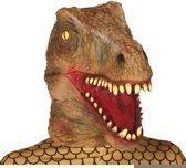 Velociraptor horror dinosaurus masker van latex - Halloween verkleed maskers - Enge maskers
