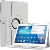 Samsung TAB 3 10.1  hoesje 360 graden draaibaar met  Multi-stand -Wit