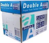 Double A - A4-formaat - 5000 vel - Premium printpapier 80g