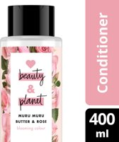 Love Beauty and Planet Condioner Blooming Color - 400 ml - Muru Muru Butter & Rose Oil